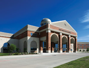 Designing k-12 Corgan Associates, this year's Top Design Firm, is the architect for the new Red Oak High School near Dallas. Cadence McShane Cos. completed the 40,000-sq-ft, three-story masonry and glass facility.