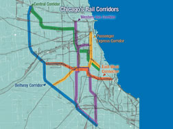 Chicago rail expansion plan may be a prototype for future projects.