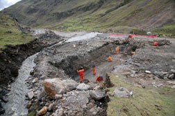 Crews spent last  season preparing to pave.