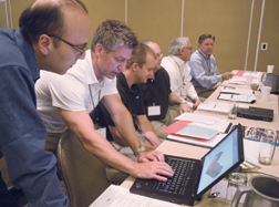 AGC's BIM workshop was a hive of planning for the BIM revolution.