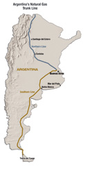 From North to South, New Pipe Delivers Power to Argentina