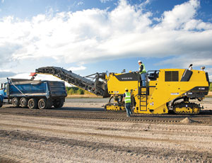 Road milling: Dual Operator Stations