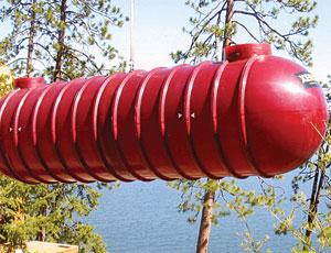 Fiberglass Tank: Water Reclamation