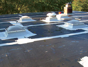 Roof Coating System: Reflective