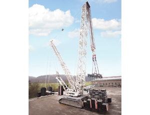 Heavy Lifter: Crawler Crane
