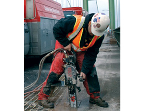 Hydraulic Concrete Chain Saw: Deeper Cuts Save Time