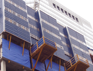 High-Rise Protection System: Keeps the Weather Out and Debris In