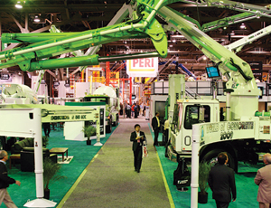Weak Economy Saps Attendance At 'World of Concrete' Show