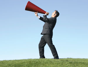 Megaphone Messages May Be Just Pure Political Spin