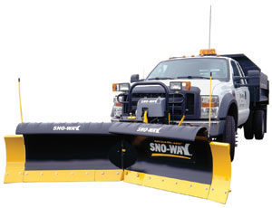 Angled Snow Plow: Easy Moldboard Leveling