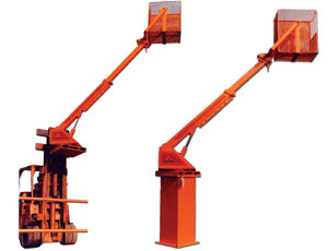 HYDRAULIC FORK-LIFT CRANE: Multi-Purpose Uses