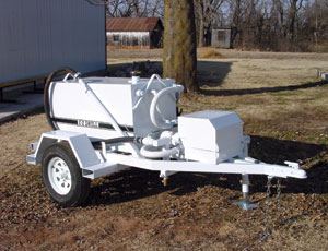 Cure Spray Trailer: Easily Transported