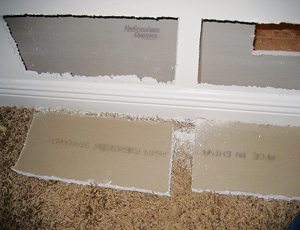 Chinese-made drywall could be the cause of household corrosion and sulfur smells.