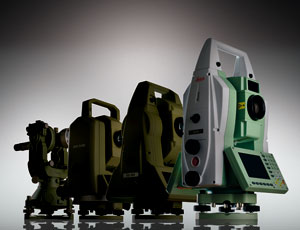capture every detail: Robotic Total Station