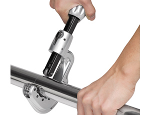Stainless-Steel Tubing Cutter: Larger Grip for Faster Cuts on Tubes of Varying Diameters