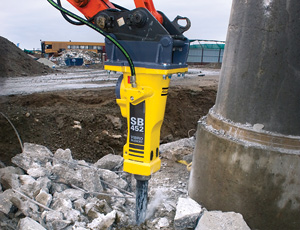Hydraulic Breaker: Fully Encased Design