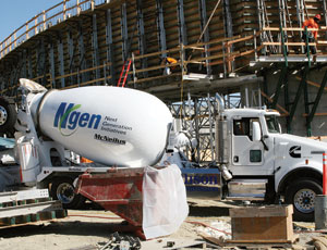 Natural-Gas-powered Concrete mixer: Cleaner Air and Quieter Operation