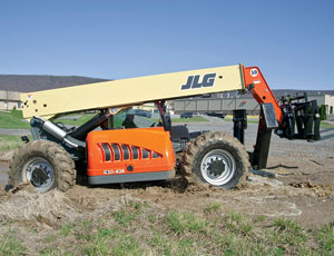 High-Capacity Telehandler: Maneuverable With Heavy Loads