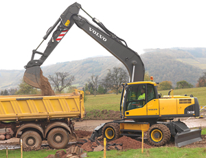 Wheeled Excavator: Heavy Duty and Road Ready