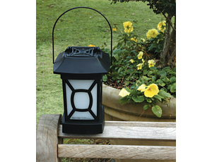 Portable insect-repellent lantern: Small Sizes Covers a Wide Area