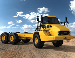 Articulated Truck Chassis: Custom Machines