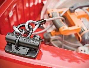 Pickup-Truck Equipment Lock: Prevent Tool Theft