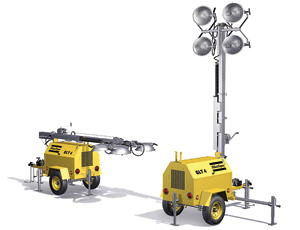 Light Tower: Fuel-Efficient Generator for Lower Operating Costs