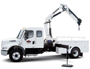Upgraded Articulated Cranes: Higher Lift Capacities