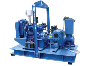 Cleaner Dewatering: Compressor Prevents Spills