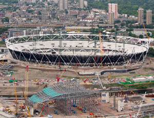 London's 2012 Olympic Construction Sets Winning Pace