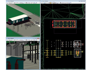 Bentley's Substation V8i aids distribution planners with data modeling.