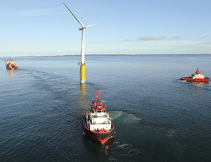 New Breed of Wind Turbines Tests the Waters