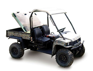 Utility Vehicle Storage covers: Lockable