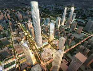 SOM To Develop New 'Green' Beijing Central Business District