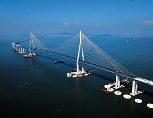 Korea's Incheon Bridge Opens 52 Months After Contract Signed