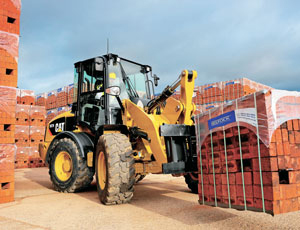 Compact wheel loader: Accepts Many Attachments