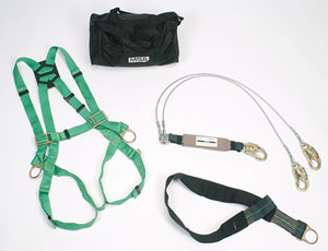 Heat-resistant Fall-Protection harness: Welding on High