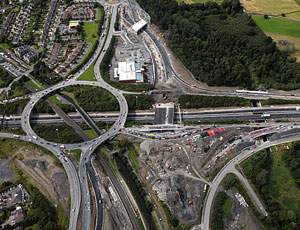 A major redesign eases construction at Dublin's N3-M50 interchange