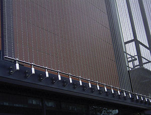 Architectural Wire Cloth: Can Be Added to Existing Structures