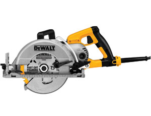 Worm-Drive Circular Saw: Extreme Bevel Capacity