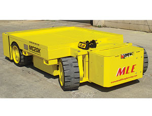 Remote-Controlled Cart: High Capacity