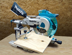 Miter Saw: Can Handle Wide Boards