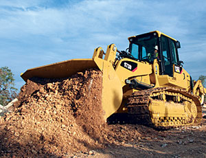 Track Loader: Load-Sensing Hydraulics Save Fuel
