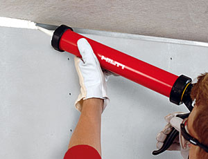 Smoke and acoustic sealant: Installs in No Time