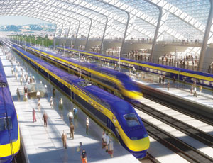 California's planned high-speed rail line may be informed by advice offered from around the world at a symposium.