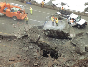 Massive Boulders in Rock Slide Shut Down Colorado's I-70