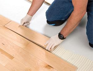Wood-Flooring Adhesive: Halts Moisture Vapor
