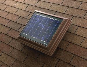 Attic Ventilation: Solar-Powered