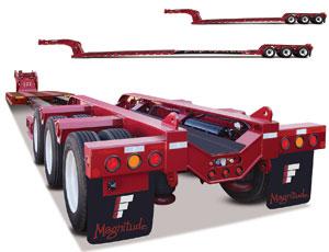 Modular Heavy-Load trailer: Adjustable Length