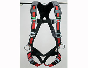 Safety Harness: RFID Tagged for Easier Tracking